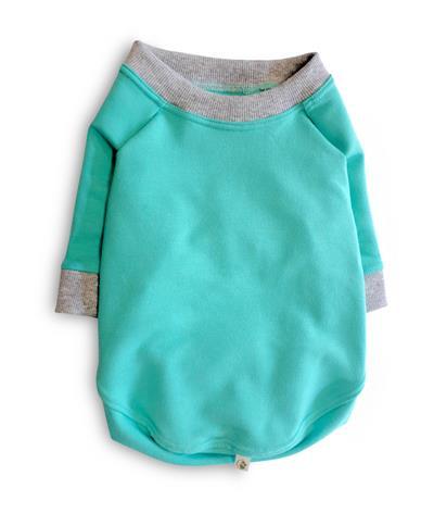 Apple Sweatshirt - Bali Blue