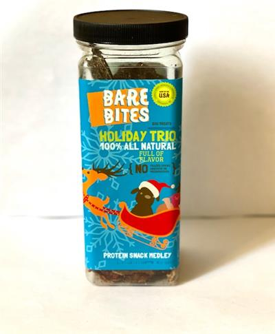Bare Bites Holiday Trio: Bare Bites, Bare Breasts, and Piggy Pack
