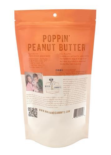 Poppin' Peanut Butter - 5oz Bags