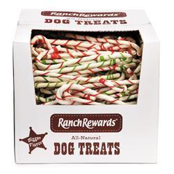 Ranch Rewards Candy Cane Bulk Box, 8-Inch, 250 Pieces
