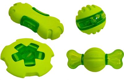 """Hyper Pet™ Dura-Squeaks 5.75"""" UFO 3 PACK $16.50 ($5.50 EA) 3 OTHER STYLE AVAILABLE"""