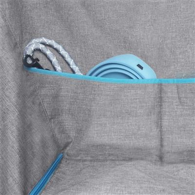 Half Hammock - Heather Grey/Coastal Blue