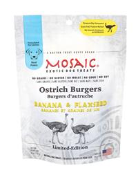 USA Ostrich Burgers | Banana & Flaxseed (4 oz. packages)
