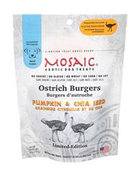 USA Ostrich Burgers | Pumpkin & Chia Seed (4 oz. packages)