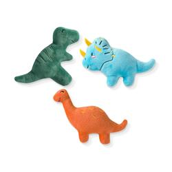 DINOS SMALL DOG TOYS - SET OF 3