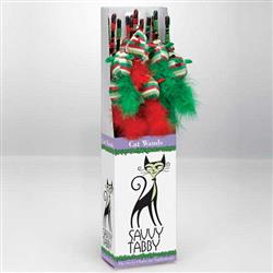 Savvy Tabby Holiday Wand Display