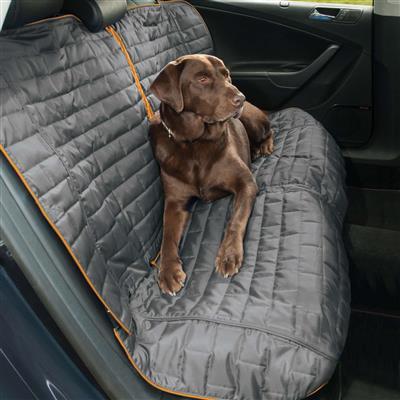 Bench Seat Cover - Loft - Coastal Blue/Charcoal