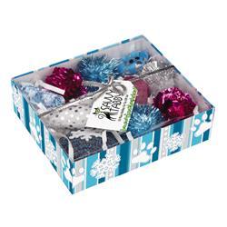 Savvt Tabby Crinkle Kitty Holiday Gift Set