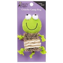 Savvy Tabby Crunchy Catnip Frog