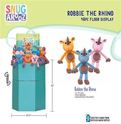 Robbie the Rhino - 48pc Floor Display