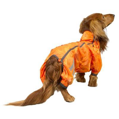 Hurtta Slush Combat Suit, Orange Camo