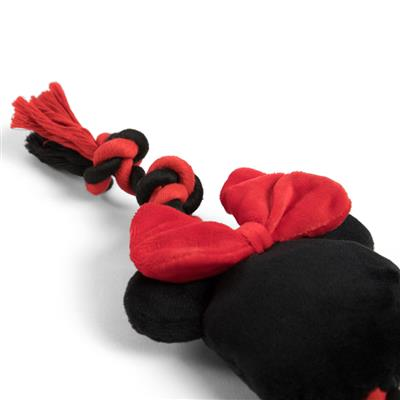 """Mickey and Minnie Sliding Rope Toy - 17"""""""