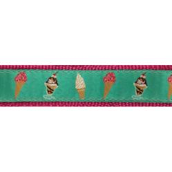 """Ice Cream - 1.25"""" Collars, Leashes and Harnesses"""