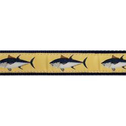 "Atlantic Blue Fin Tuna - 1.25"" Collars, Leashes and Harnesses"