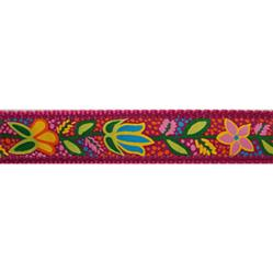 "Bristol Flower - 1.25"" Collars, Leashes and Harnesses"