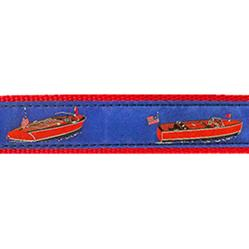 """Wooden Boats - 1.25"""" Collars, Leashes and Harnesses"""