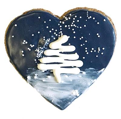 Starry Night Heart
