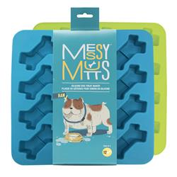 Silicone Bake & Freeze Treat Makers - 2 Pack by Messy Mutts