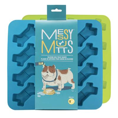 Silicone Bake & Freeze Treat Makers by Messy Mutts