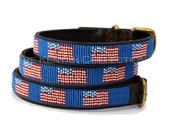 American Flag Collar & Leash Collection