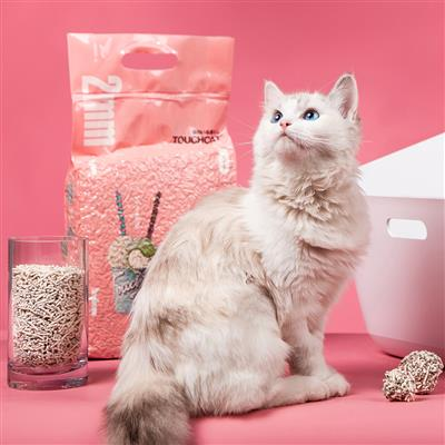 Touchcat 'Litter-ally Natural' Absorbant and Clumping Cat Litter w/ New Technology