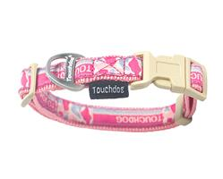 Touchdog 'Bubble Yum' Tough Stitched Embroidered Collar and Leash