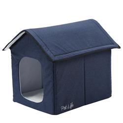 "Pet Life ""Hush Puppy"" Electronic Heating and Cooling Smart Collapsible Pet House"