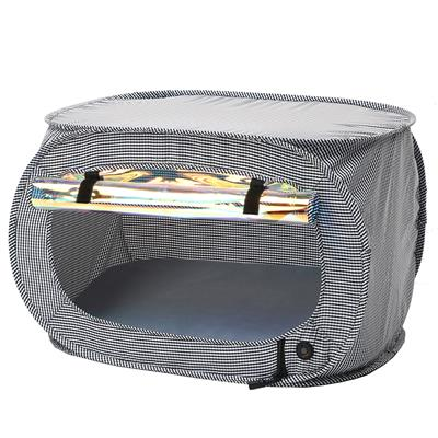 "Pet Life ""Enterlude"" Electronic Heating Lightweight and Collapsible Pet Tent"