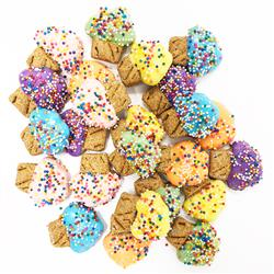 Pet Life Mini Muffin Shaped Whole Wheat Oat and Yogurt Dog Biscuits