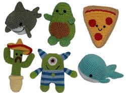 New Knit Knack Toys