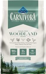 Blue Buffalo Cat Carnivora Woodlands 4 Lbs.