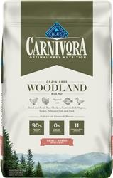 Blue Buffalo Dog Carniivora Woodlands Small Breed 10 Lbs.