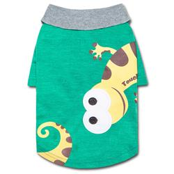 Touchdog 'Arubark' Caribbean Style Dog Polo T-Shirt