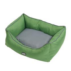 BUSTER Sofa Bed in Artichoke Green/Steel Grey