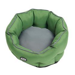BUSTER Cocoon Bed in Artichoke Green/Steel Grey