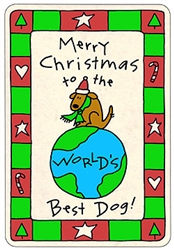 Crunch Card - Christmas/Best Dog