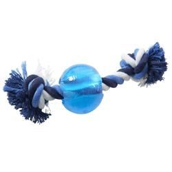 BUSTER Strong Ball w/Rope Dog Toy