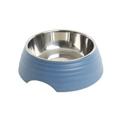 BUSTER Frosted Ripple Dog Bowl