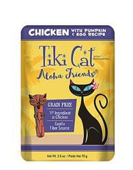 Tiki Pets Cat Aloha Chicken Pumpkin Lamb 2.5 Oz.(Case Of: 12)