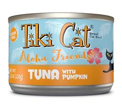 Tiki Pets Cat Aloha Tuna Pumpkin 5.5 Oz.(Case Of: 8)