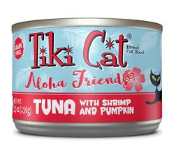 Tiki Pets Cat Aloha Tuna Shrimp 5.5 Oz.(Case Of: 8)
