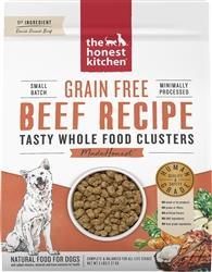 Honest Kitchen Dog Clusters Grain Free Beef 20 Lbs.