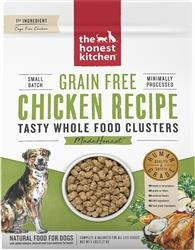 Honest Kitchen Dog Clusters Grain Free Chicken 20 Lbs.
