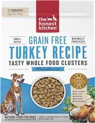 Honest Kitchen Dog Clusters Grain Free Turkey 1 Lbs. Trial