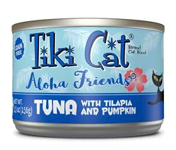 Tiki Pets Cat Aloha Tuna Talapia 5.5 Oz.(Case Of: 8)