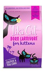 Tiki Pets Cat Carnivore Luau Kitchen Chicken 2.8 Lbs