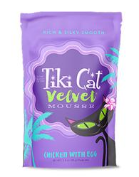 Tiki Pets Cat Mousse Chicken Egg 2.8 Oz.(Case Of: 12)