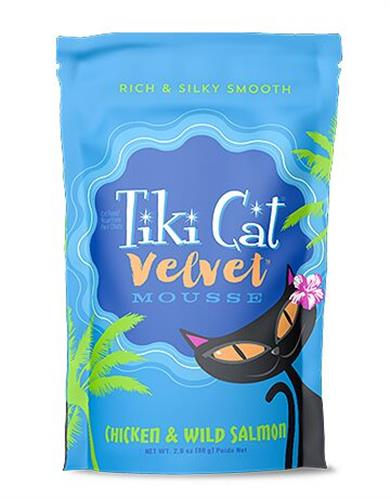 Tiki Pets Cat Mousse Chicken Salmon 2.8 Oz.(Case Of: 12)