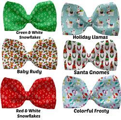 New Christmas Pet Bow Ties