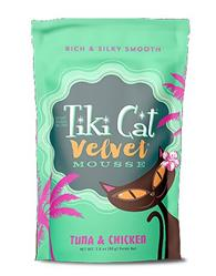 Tiki Pets Cat Mousse Tuna Chicken 2.8 Oz.(Case Of: 12)